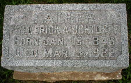 UCHTORFF, FREDERICK A. - Scott County, Iowa   FREDERICK A. UCHTORFF