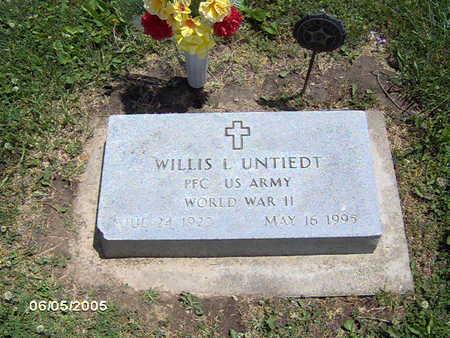 UNTIEDT,  WILLIS - Scott County, Iowa |  WILLIS UNTIEDT