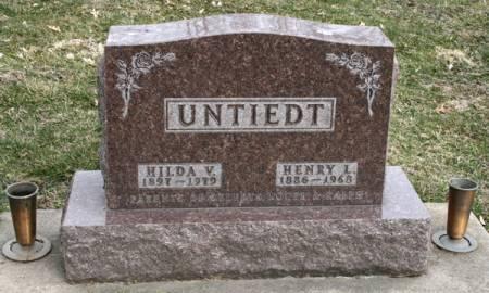 UNTIEDT, HENRY L. - Scott County, Iowa | HENRY L. UNTIEDT