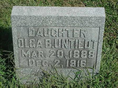 UNTIEDT, OLGA B - Scott County, Iowa | OLGA B UNTIEDT