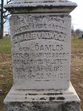 DAMLOS VILLWOCK, AMALIE - Scott County, Iowa | AMALIE DAMLOS VILLWOCK