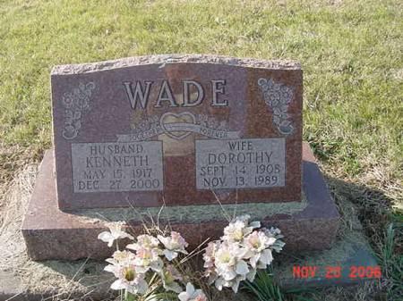 WADE, DOROTHY - Scott County, Iowa | DOROTHY WADE