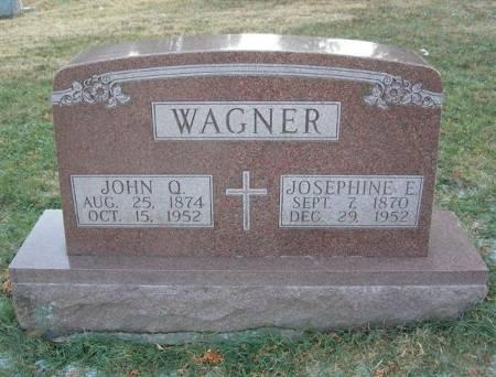 WAGNER, JOSEPHINE E. - Scott County, Iowa | JOSEPHINE E. WAGNER