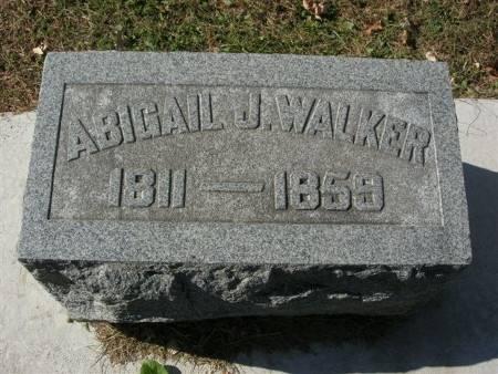 WALKER, ABIGAIL J. - Scott County, Iowa   ABIGAIL J. WALKER
