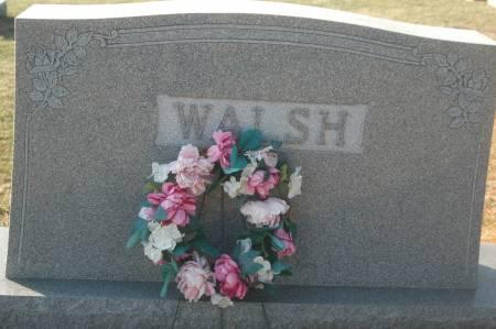 WALSH, FAMILY MONUMENT - Scott County, Iowa | FAMILY MONUMENT WALSH