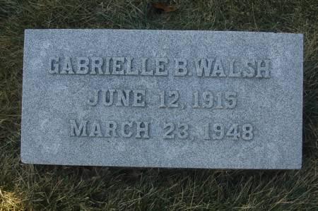 WALSH, GABRIELLE B. - Scott County, Iowa | GABRIELLE B. WALSH