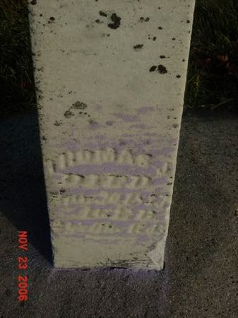 WARD, THOMAS J - Scott County, Iowa   THOMAS J WARD