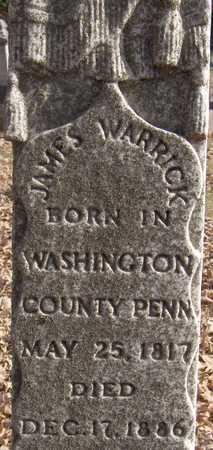 WARRICK, JAMES - Scott County, Iowa | JAMES WARRICK
