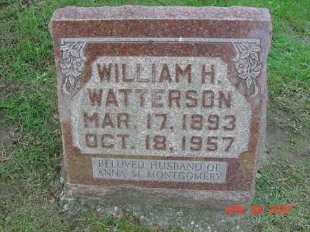 WATTERSON, WILLIAM H - Scott County, Iowa   WILLIAM H WATTERSON