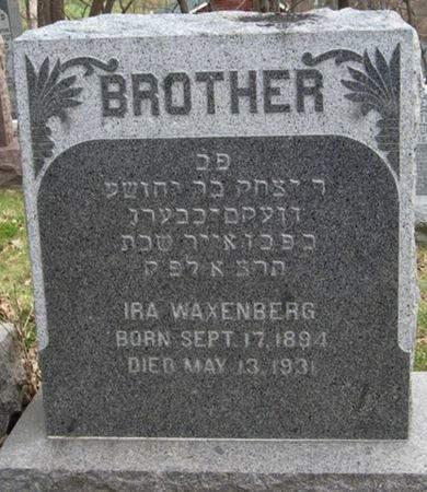 WAXENBERG, IRA - Scott County, Iowa | IRA WAXENBERG
