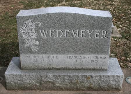 WEDEMEYER, WILFRED E. - Scott County, Iowa   WILFRED E. WEDEMEYER