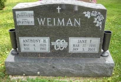 WEIMAN, JANE   F. - Scott County, Iowa | JANE   F. WEIMAN