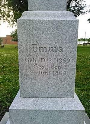 WEISS, EMMA - Scott County, Iowa | EMMA WEISS