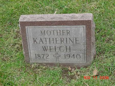 WELCH, KATHERINE - Scott County, Iowa | KATHERINE WELCH