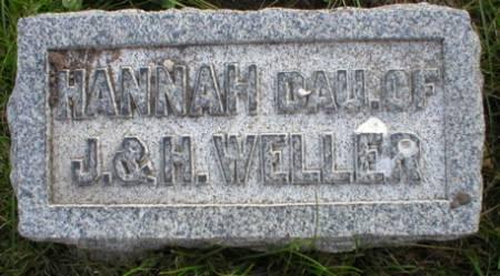 WELLER, HANNAH - Scott County, Iowa | HANNAH WELLER