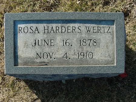 WERTZ, ROSA - Scott County, Iowa | ROSA WERTZ
