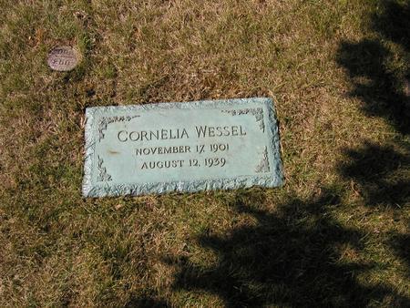 WESSEL, CORNELIA - Scott County, Iowa | CORNELIA WESSEL