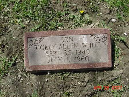 WHITE, RICKEY ALLEN - Scott County, Iowa | RICKEY ALLEN WHITE