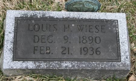 WIESE, LOUIS H. - Scott County, Iowa | LOUIS H. WIESE