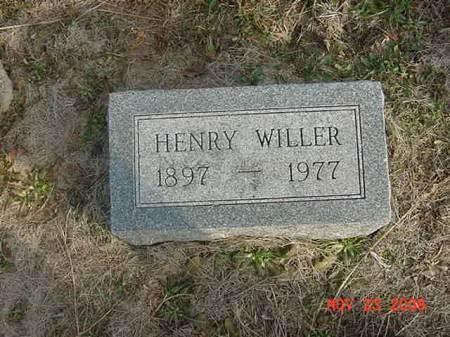 WILLER, HENRY - Scott County, Iowa | HENRY WILLER