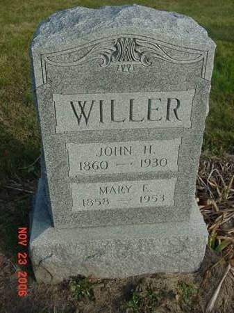WILLER, MARY E - Scott County, Iowa | MARY E WILLER