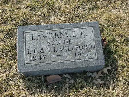 WILLFORD, LAWRENCE E - Scott County, Iowa | LAWRENCE E WILLFORD