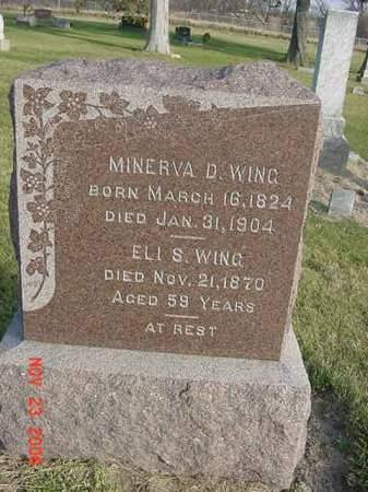 WING, MINERVA D - Scott County, Iowa | MINERVA D WING