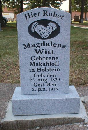 WITT, MAGDALENA - Scott County, Iowa | MAGDALENA WITT