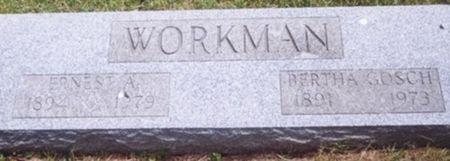 WORKMAN, ERNEST - Scott County, Iowa   ERNEST WORKMAN