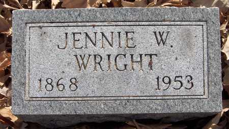 WRIGHT, JENNIE - Scott County, Iowa | JENNIE WRIGHT