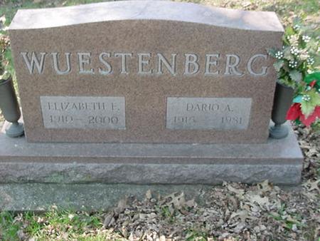 WUESTENBERG, ELIZABETH F - Scott County, Iowa | ELIZABETH F WUESTENBERG