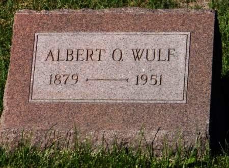 WULF, ALBERT O - Scott County, Iowa | ALBERT O WULF
