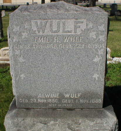 WULF, ALWINE - Scott County, Iowa | ALWINE WULF