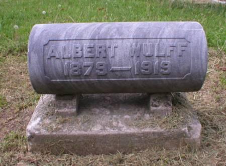 WULFF, ALBERT - Scott County, Iowa | ALBERT WULFF