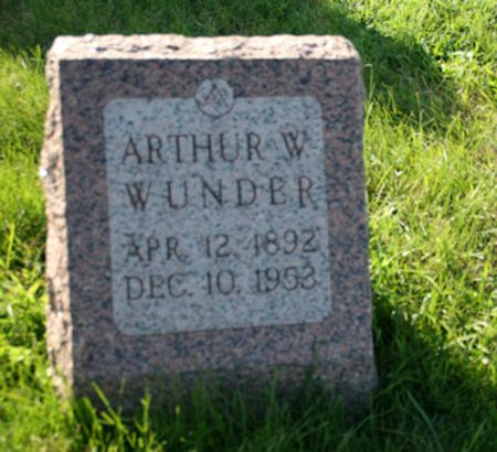 WUNDER, ARTHUR W. - Scott County, Iowa | ARTHUR W. WUNDER
