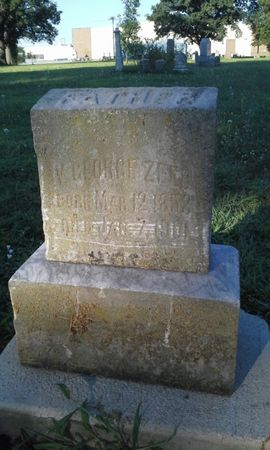 ZEEB, GEORGE V. - Scott County, Iowa | GEORGE V. ZEEB