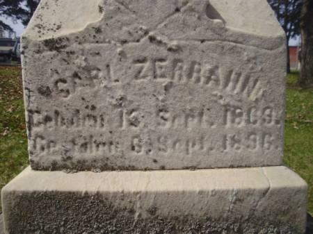 ZERRAHN, CARL - Scott County, Iowa   CARL ZERRAHN