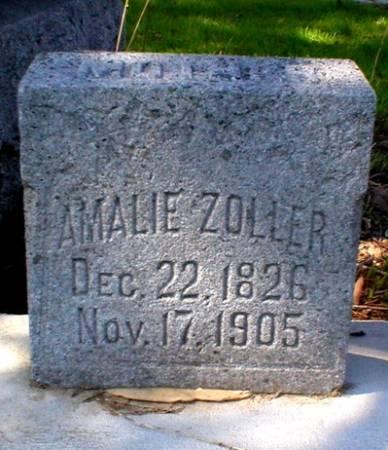 ZOLLER, AMALIE - Scott County, Iowa | AMALIE ZOLLER