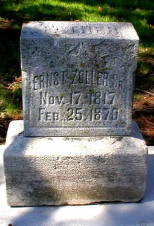 ZOLLER, ERNST SR. - Scott County, Iowa | ERNST SR. ZOLLER