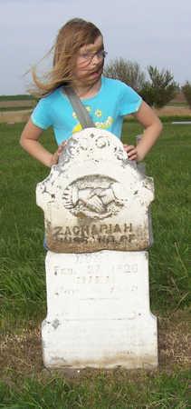 UNKNOWN, ZACHARIAH - Shelby County, Iowa | ZACHARIAH UNKNOWN