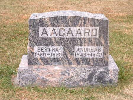 AAGAARD, BERTHA - Shelby County, Iowa | BERTHA AAGAARD