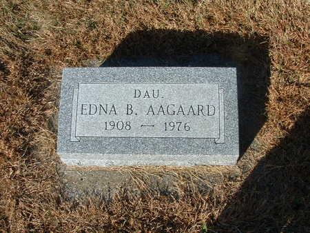 AAGAARD, EDNA B - Shelby County, Iowa | EDNA B AAGAARD