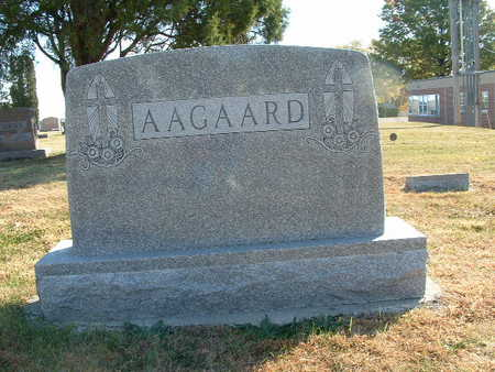 AAGAARD, HENRY A - Shelby County, Iowa | HENRY A AAGAARD