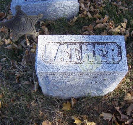 ADAMS, ALEXANDER (FATHER) - Shelby County, Iowa   ALEXANDER (FATHER) ADAMS