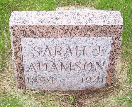 ADAMSON, SARAH J. - Shelby County, Iowa | SARAH J. ADAMSON