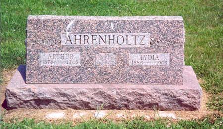 AHRENHOLTZ, ARTHUR - Shelby County, Iowa   ARTHUR AHRENHOLTZ
