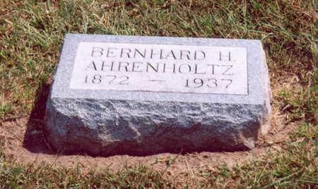 AHRENHOLTZ, BERNHARD H. - Shelby County, Iowa | BERNHARD H. AHRENHOLTZ