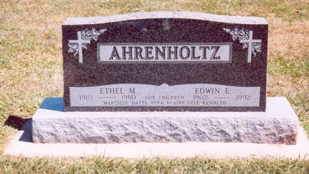 AHRENHOLTZ, EDWIN E. - Shelby County, Iowa | EDWIN E. AHRENHOLTZ