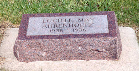 AHRENHOLTZ, LUCILLE MAY - Shelby County, Iowa   LUCILLE MAY AHRENHOLTZ