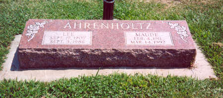 AHRENHOLTZ, LEE - Shelby County, Iowa   LEE AHRENHOLTZ